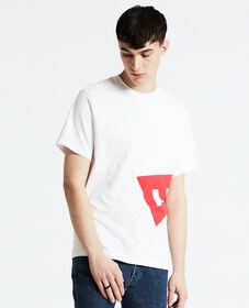 오버사이즈 로고 티셔츠
