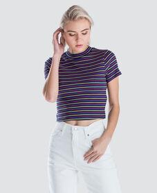 잇사 리브드 티셔츠
