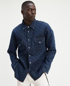 LMC 퀼티드 웨스턴 셔츠