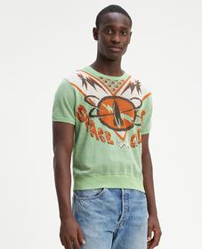 LVC 니트 서프 티셔츠