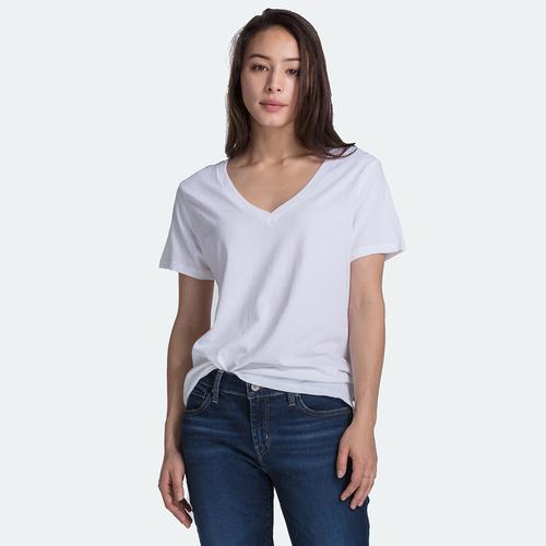 대드 브이넥 티셔츠