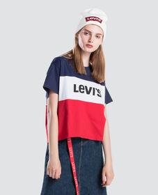 컬러블록 JV 티셔츠