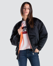리브 리버시블 봄버 자켓