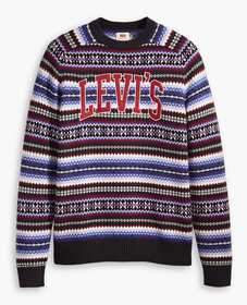 홀리데이 크루 스웨터