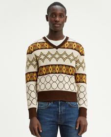 LVC 1940 브이넥 스웨터