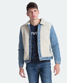 셰르파 패널 트러커 자켓