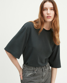 LMC 오버사이즈 슬리브 티셔츠