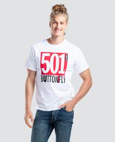 501DAY 오버사이즈 그래픽 티셔츠