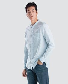 만다린 원 포켓 셔츠