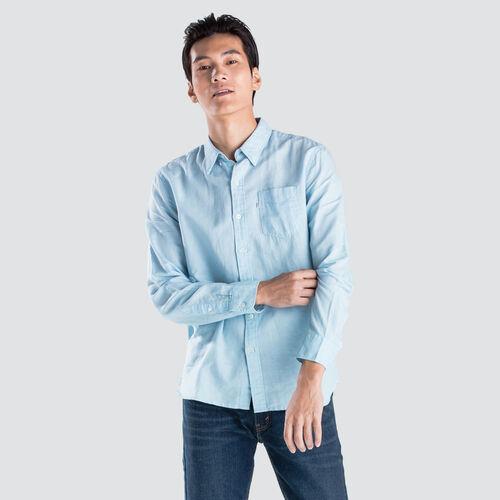 선셋 원 포켓 셔츠