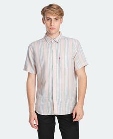 숏 슬리브 선셋 원 포켓 셔츠