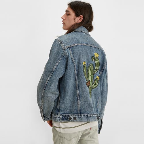 빈티지 핏 트러커 자켓