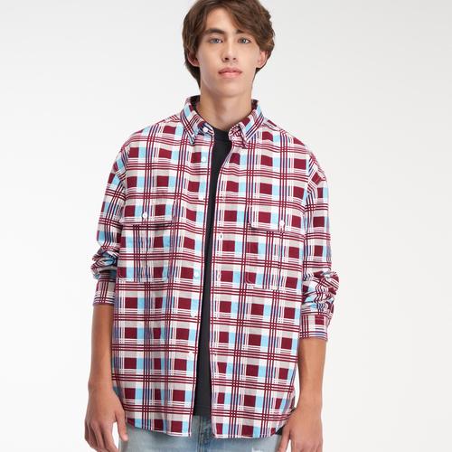 Levi's® Skateboarding™ 롱 슬리브 우븐 플래널 셔츠