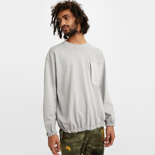 유틸리티 포켓 긴팔 티셔츠