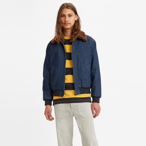 베이 스트릿 봄버 재킷