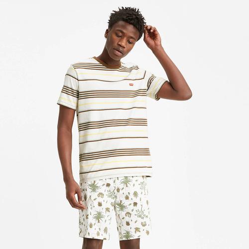 체스트 로고 티셔츠