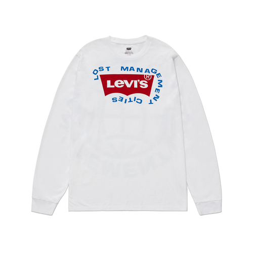 Levi's® LMC Customization Project 롱 슬리브 그래픽 티