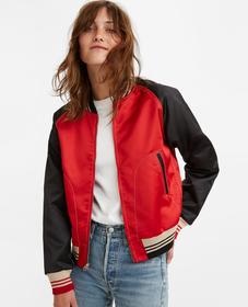 [스타 착용] LVC 봄버 재킷
