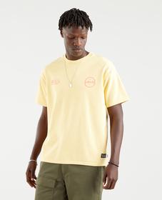 빈티지 핏 그래픽 티셔츠
