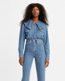 Levi's® x GANNI 웨스턴 셔츠