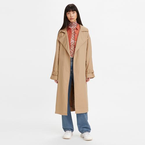 미코 트렌치 코트