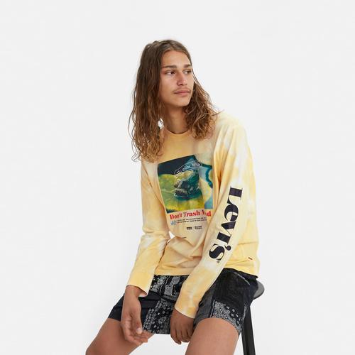 그래픽 긴팔 티셔츠