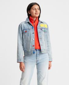LEGO® Group x Levi's® EX-보이프렌드 트러커 자켓